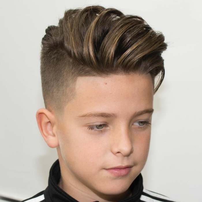 las mejores ideas de peinados originales, cortes de pelo con degradado para hombres y niños, fotos de cortes de pelo