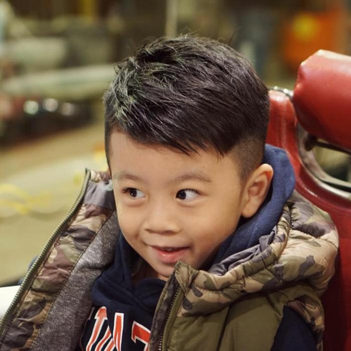 fantasticas ideas de peinados niños pequeños con degradado, fotos de cortes de pelo modernos ,imagenes de peinados