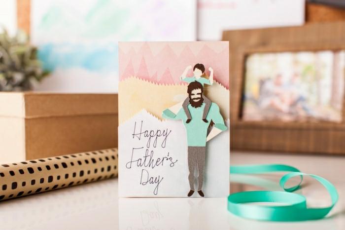 adorables ideas de tarjetas para el dia del padre, fotos de tarjetas DIY que enamoran, tutoriales de manualidades