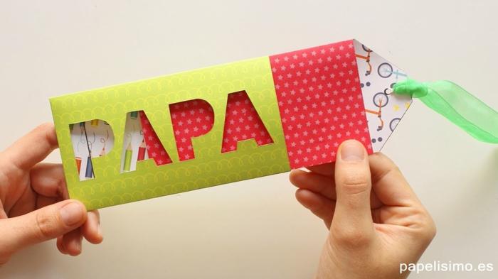 fantasticas ideas de regalos DIY originales, tarjetas especiales dia del padre, regalos para el dia del padre manualidades