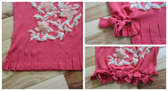 como hacer una bolsa de tela para ir de compras de una blusa reciclada, como hacer bolsas de tela en imagenes