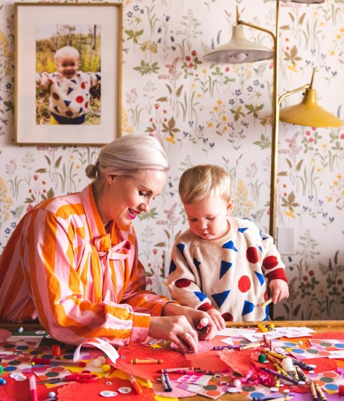 manualidades para hacer en casa, ideas de manualidades madre y niños, ideas de manualidades faciles de hacer en casa