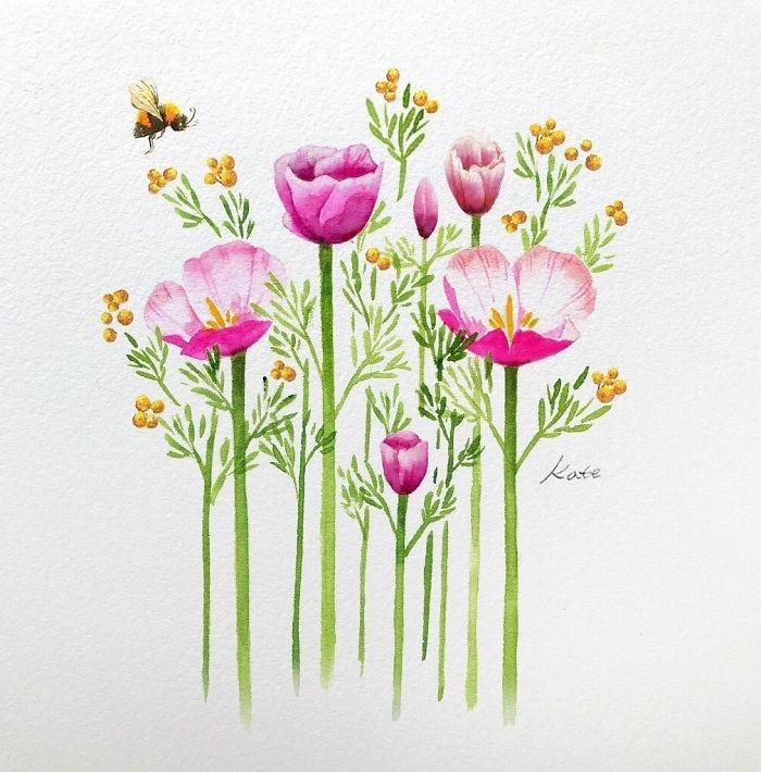 ramos de flores para rebiujar, las mejores ideas de imagenes para dibujar, dibujos que enamoran en imagenes bonitas