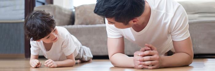 rutina ejercicios en casa originales ideas sobre como entrenar en familia, fotos de ejercicios originales y faciles de hacer
