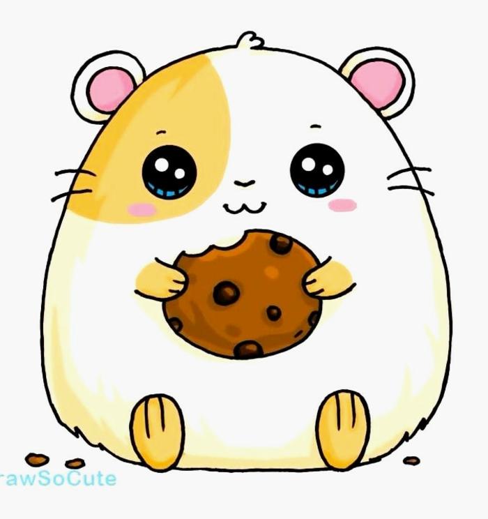 las mejores ideas de dibujos kawaii para colorear o redibujar, animalito super tirno, dibujos de cuquis kawaii en fotos