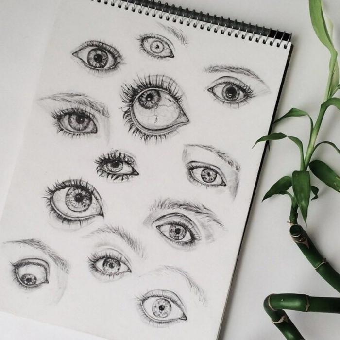dibujos tumblr originales, ideas de dibujos faciles de hacer, como dibujar ojos, fotos de dibujos originales y faciles de hacer
