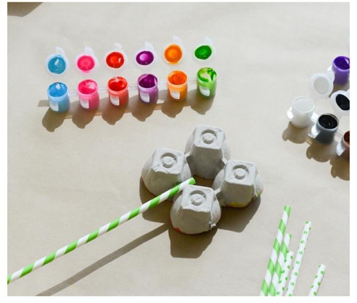 geniales ideas de manualidades con carton de huevo, detalles divertidos para hacer en casa de cartón reutilizado