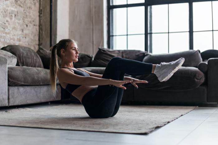 como establecer una rutina ejercicios en casa, ideas para perder peso en casa mientras dure el confinamiento en fotos