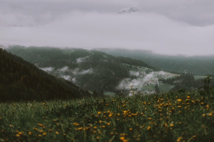 paisajes montañosos fotografiados en plena primavera, fondos de pantalla primavera е imagenes de paisajes