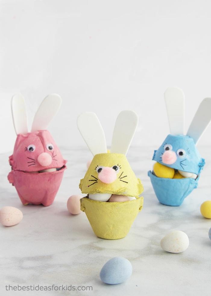 manualidades para regalar para Pascua, fantastiacas ideas de manualidades faciles y rapidas para decorar la casa en primavera