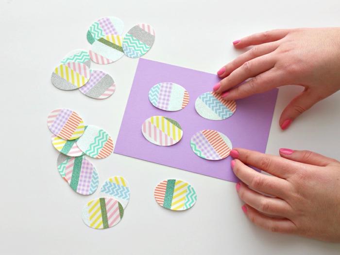 manualidades en casa originales, ideas de decoracion casera con cinta adhesiva colorida, manualidades con washi tape