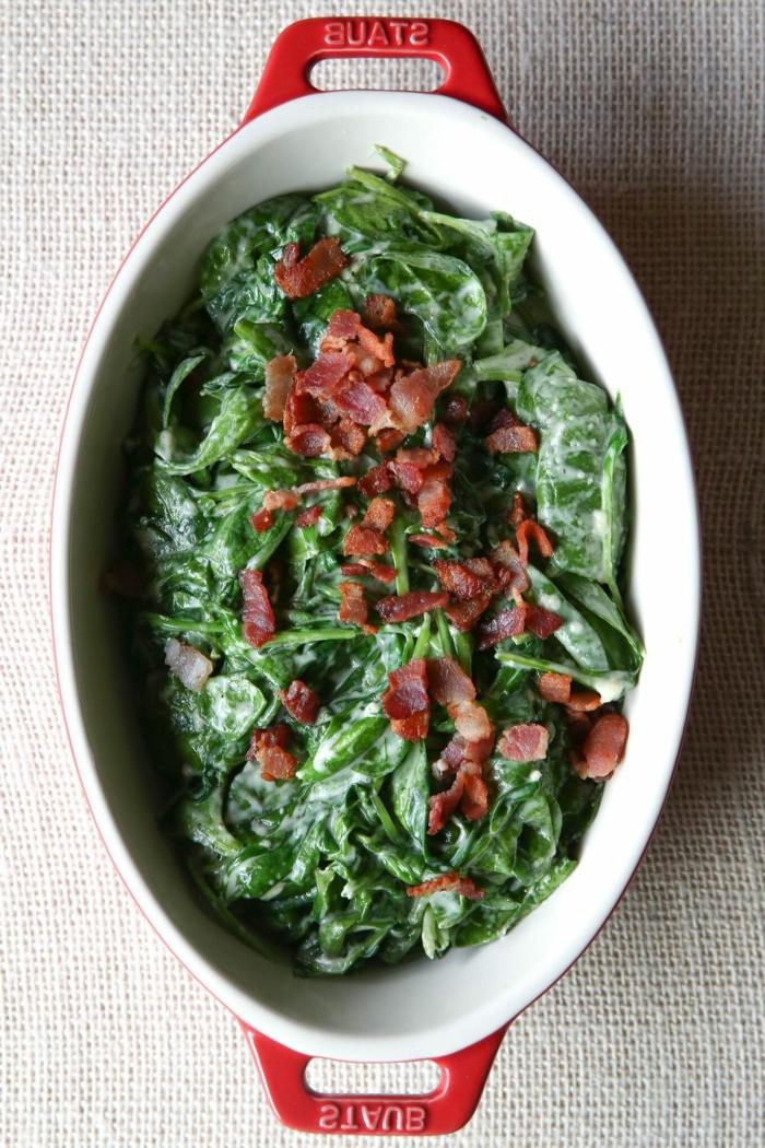 como preparar espinacas al horno, ideas de recetas de platos para conseguir una dieta equilibrada, fotos de recetas