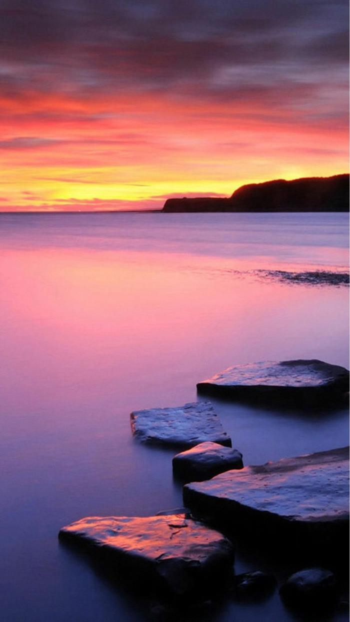 paisajes en bonitos colores para descargar, fondos de pantalla iphone con paisajes de naturaleza hermosos, paisajes del mar