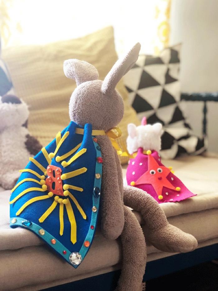 manualidades faciles y bonitas de fieltro, robo para juguete hecho de fieltro, originales ideas de manualidades caseras