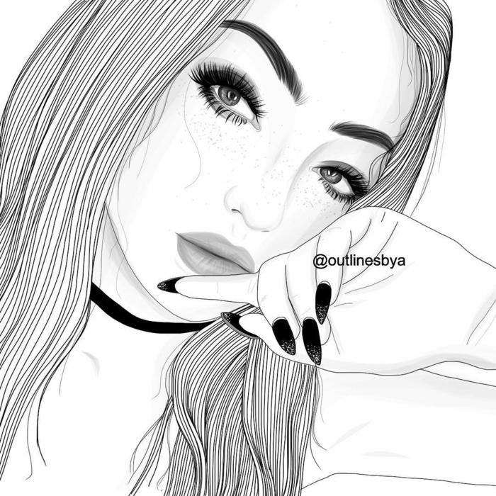 dibujos tumblr a lapiz originales y bontios, como dibujar a lapiz, dibujos simbolicos que inspiran, ideas de dibujos chicas tumblr