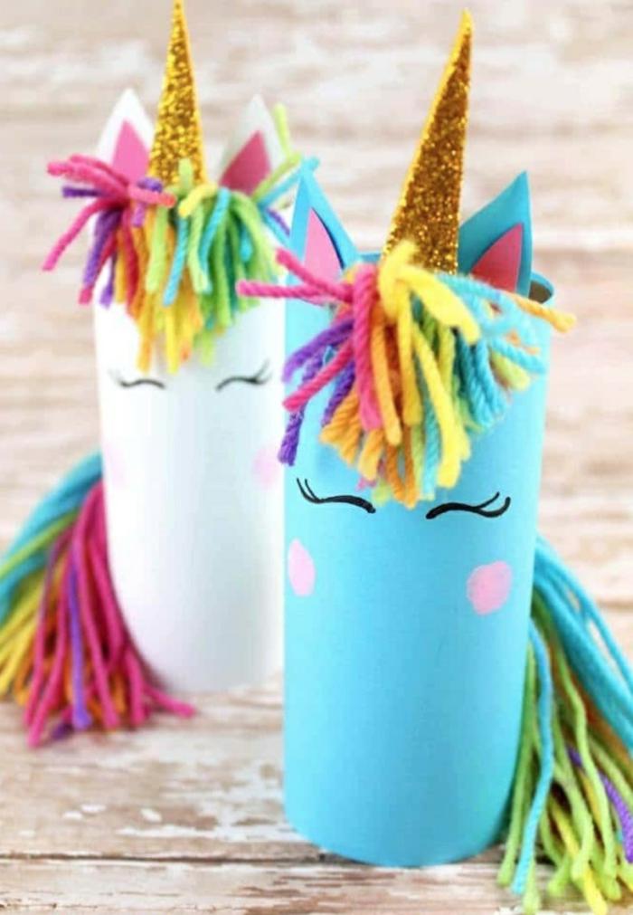 coloridos detalles DIY, ideas de manualiades con papel higienico, manualidades faciles y bonitas para hacer en casa