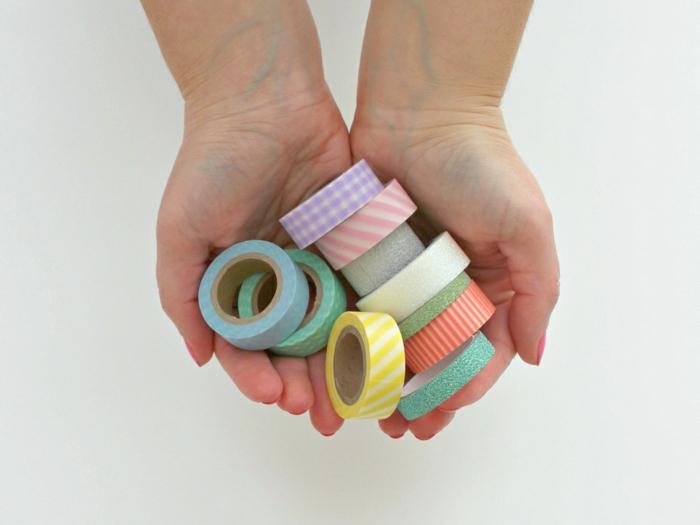 manualidades en casa originales, decoracion con cinta adhesiva, ideas de decoracion DIY, fotos de manualidades