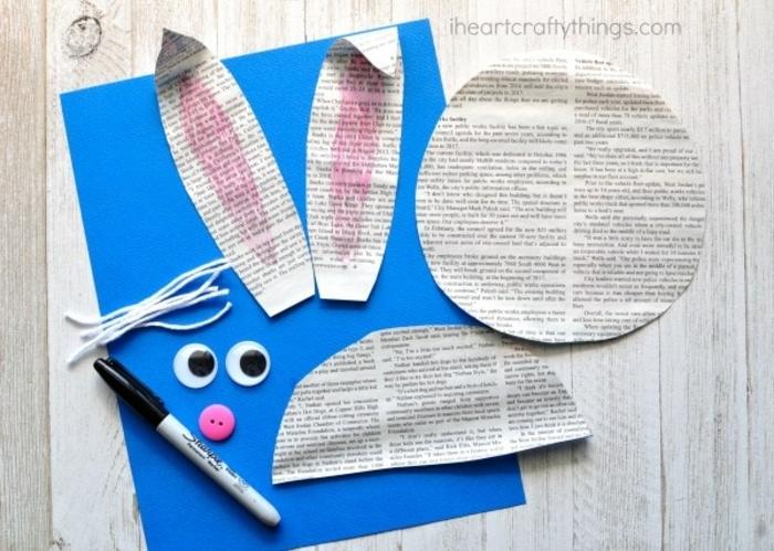 como hacer manualidades con papel originales, cuadros decorativos con papel periodico, manualidades infantiles