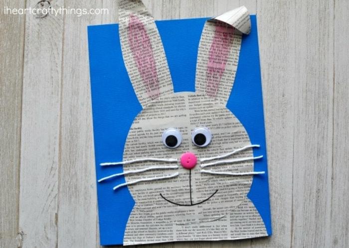 manualidades infantiles con reciclaje, ideas de manualidades faciles y originales, como hacer un cuadro con papel periodico