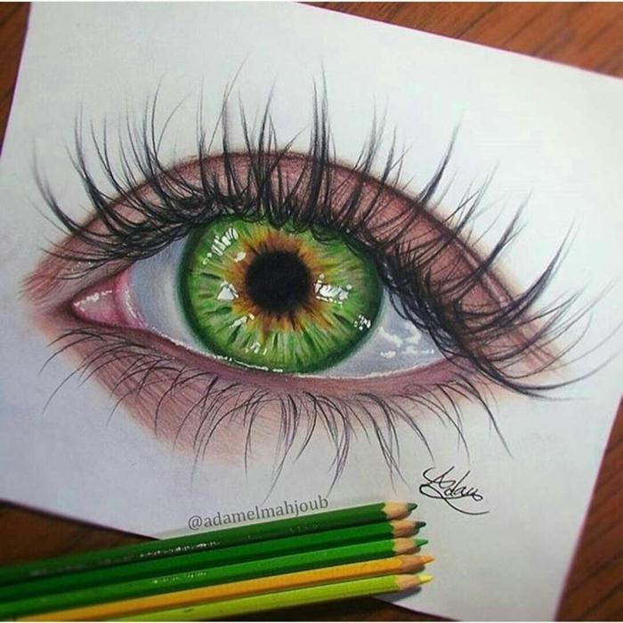 dibujos tumblr a lapiz, ojo dibujado en estilo hipperrealista, dibujos de personas bonitos, fotos de dibujos que inspiran