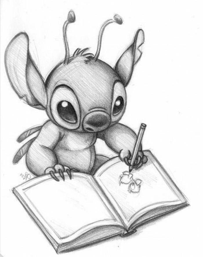 las mejores ideas de dibujos kawaii para niños y adultos, dibujos tumblr blanco y negro para aprender a dibujar paso a paso
