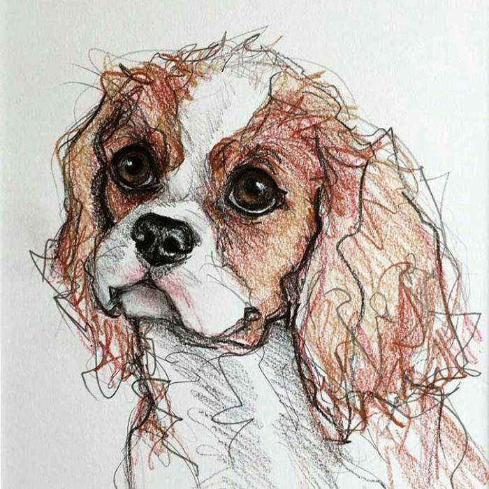 ideas de dibujos de animales en estilo kawaii, cosas tiernas para dibujar en casa, dibujos tumblr blanco y negro para descargar