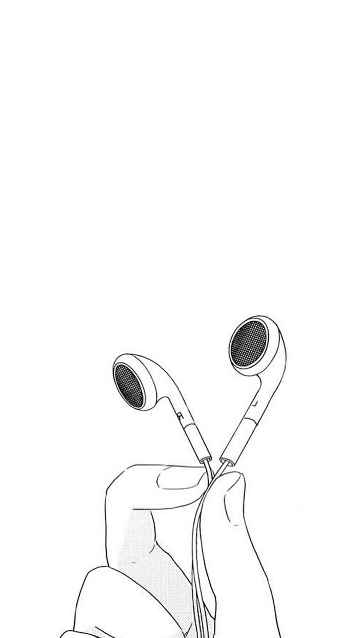 dibujos simbolicos en blanco y negro, ideas de dibujos que inspiran, dibujos tumblr blanco y negro que puedes dibujar en casa