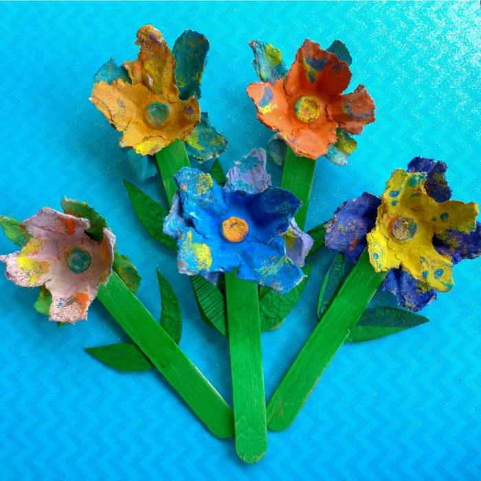 fantásticas ideas de proyectos decorativos con cartón de huevo, manualidades de pascua para niños manualidades de pascua para niños