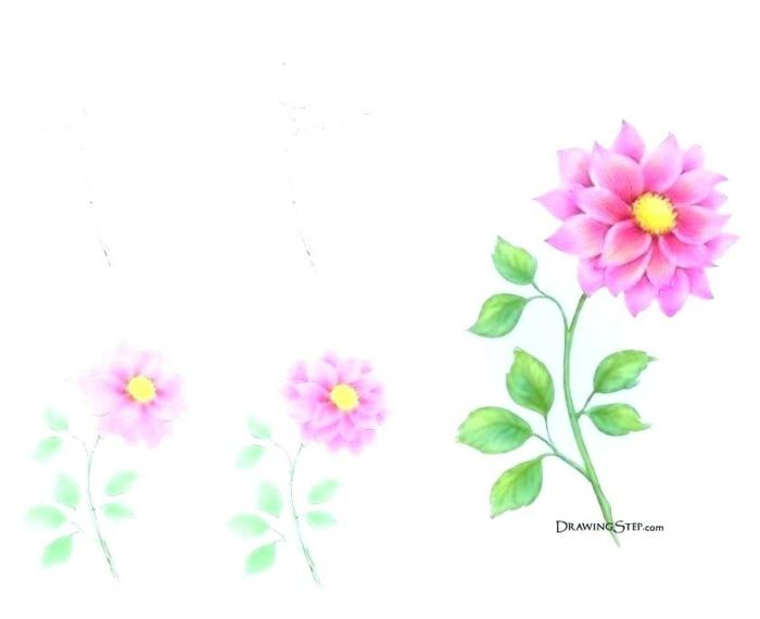 dibujos a lapiz sencillos en bonitos colores, ideas de imagenes para redibujar, actividades para niños que fomentan la creatividad