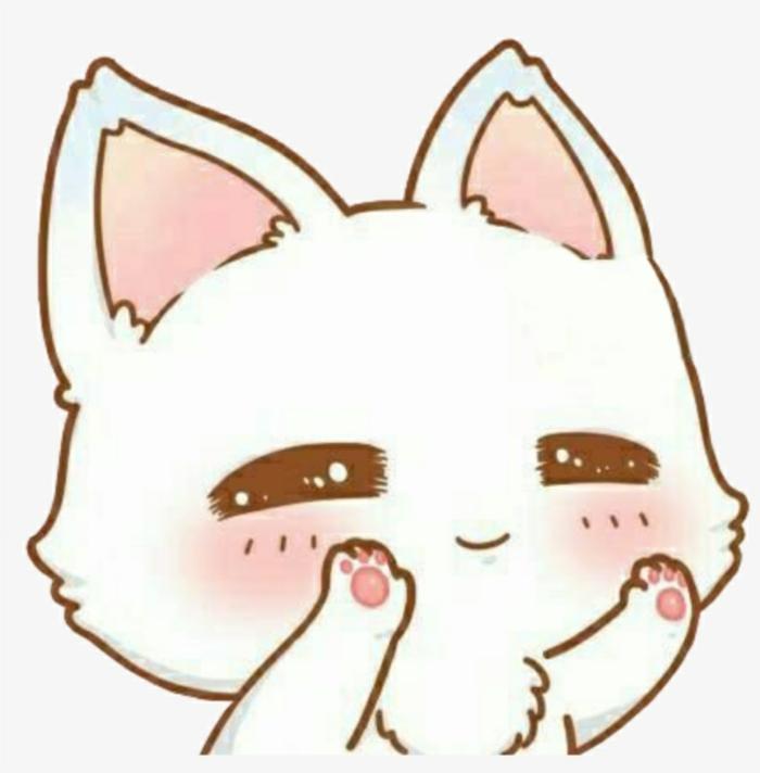 geniales ideas de dibujos de gatos con ojos kawaii, dibujos de animales tiernos, ideas de dibujos paso a paso bonitos