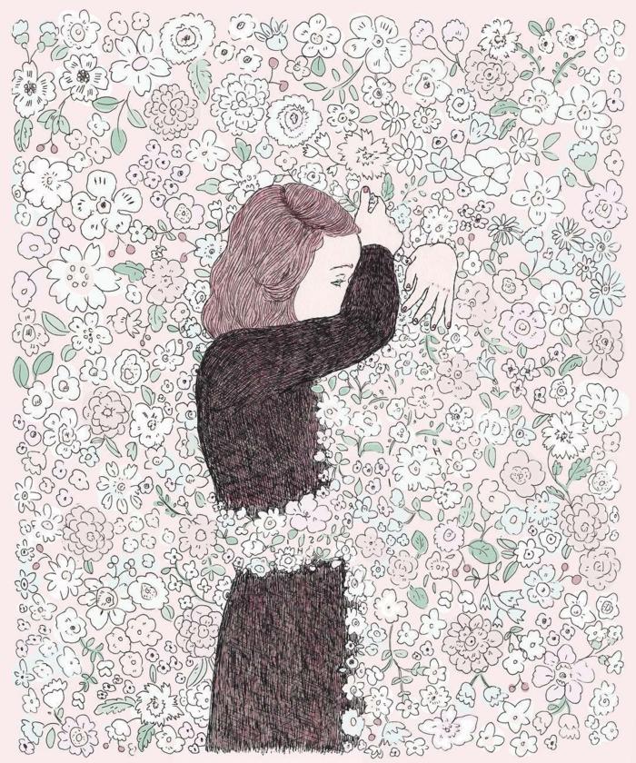 hermosas propuesta de dibujos de chicas tumblr con un fuerte significado, dibujos faciles de hacer y dibujos de amor