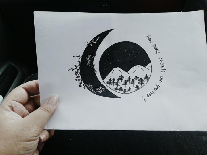 cosas tiernas para dibujar en casa, pequeños detalles que puedes dibujar si eres principiante, dibujos faciles de hacer