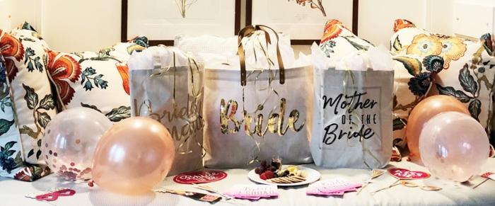 decoracion despedida de soltera originales ideas, ideas de regalos para una despedida originales y fáciles de preparar
