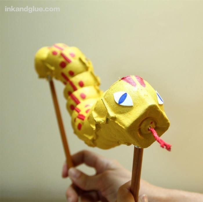 bonitos animales de carton para hacer con tu niño en casa, manualidades con carton faciles y rapidas, ideas de manualidades