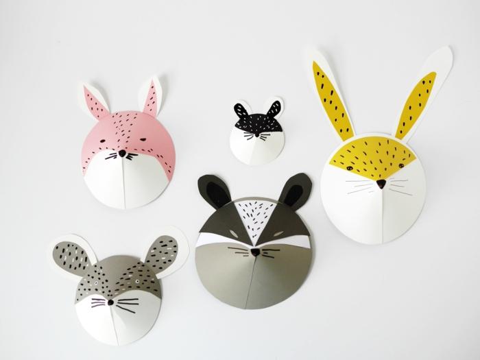 mascarillas de carton, como hacer mascarillas de animales para tu pequeño, manualidades primavera paso a paso