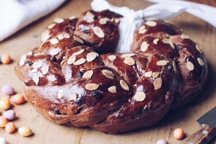 como hacer pan dulce con almendras y glaseado, originales ideas de comidas fáciles y rápidas para preparar en primavera