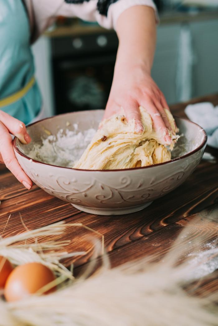 amasar la masa paso a paso, fotos de recetas caseras faciles de hacer pan dulce para la semana santa, fotos con ideas de recetas