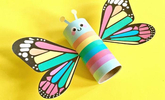 tubos de carton recilados para hacer manualiades de primavera, manualidades primavera,geniales ideas de manualidades