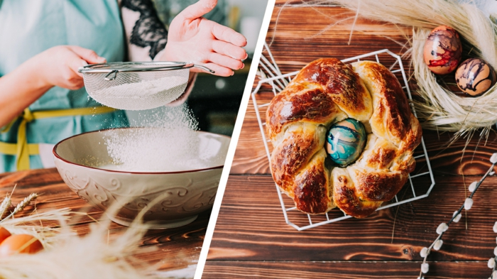 pasos para hacer una mona de pascua casera, recetas de dulces tipicos de pascua en imagenes y video, fotos de recetas