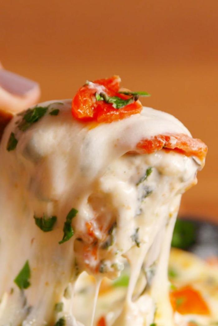 comidas en cacerola con espinacas y quesos, recetas de la cocina italiana fáciles y rapidas, mas de 10 propuestas de reetas