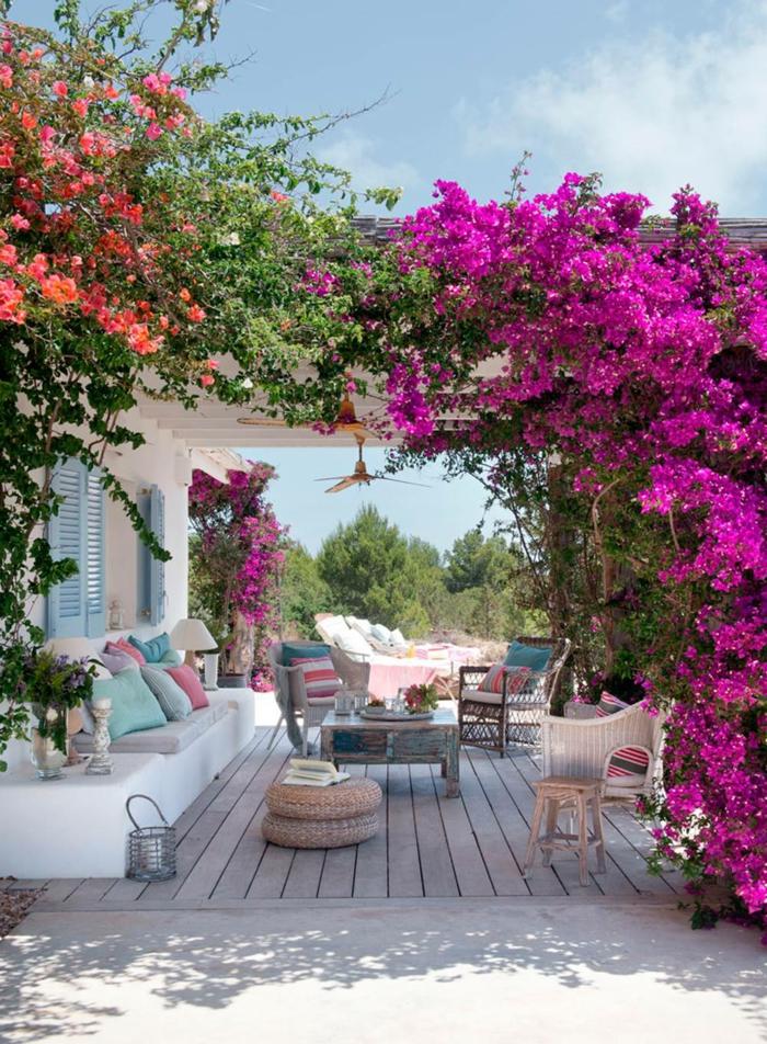 como decorar tu patio, ideas en imagenes, terrazas y patios bonitos decorados con mucho amor, ikea terraza decorada