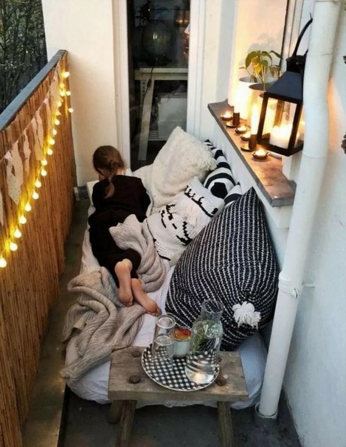 como convertir tu balcon en un pequeño paraiso chill out, fotos de balcones y terrazas acogeores y lindos, ideas terraza