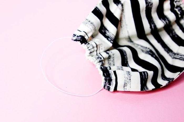 mascarillas faciles de hacer en casa, fotos de mascarillas oriignales de tela, como hacerte una mascara moderna paso a paso