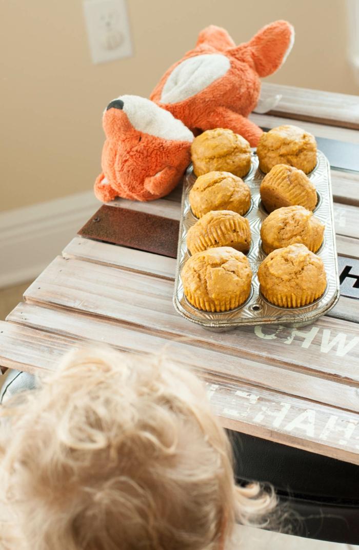 magdalenas esponjosas de calabaza, recetas para los mas pequeños, desayunos nutritivos para preparar en casa para tus niños