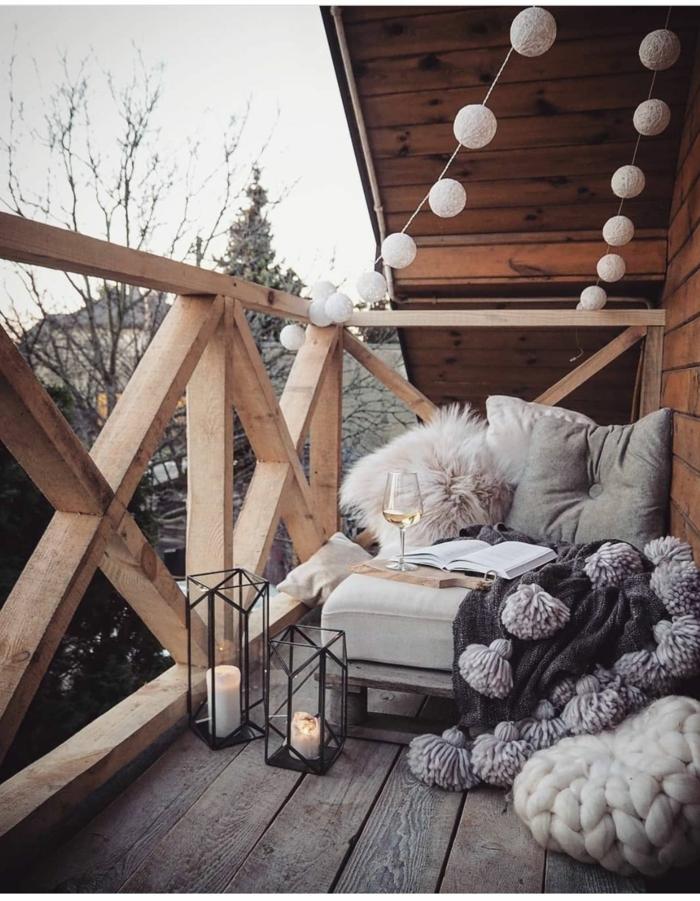geniales ideas sobre como crear una zona chill out en tu terraza, ideas de terrazas acogeoras, como conseguir un ambiente relajante