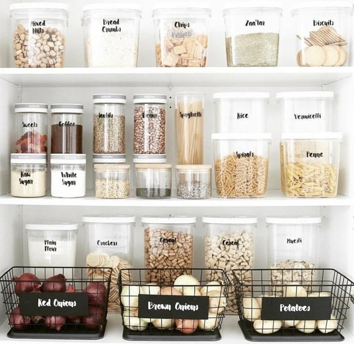 ideas par organizar mejor la cocina, organizadores ikea originales, ideas y trucos para organizar la cocina paso a paso