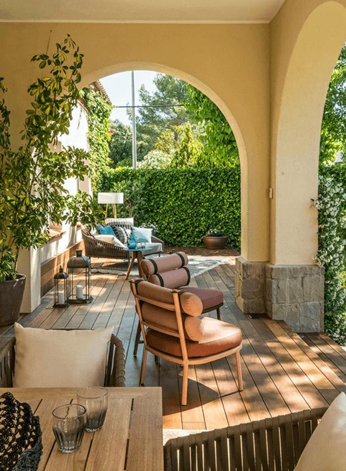 geniales ideas sobre como decorar el porche o el patio, como decorar un patio exterior con poco dinero, fotos de terraza