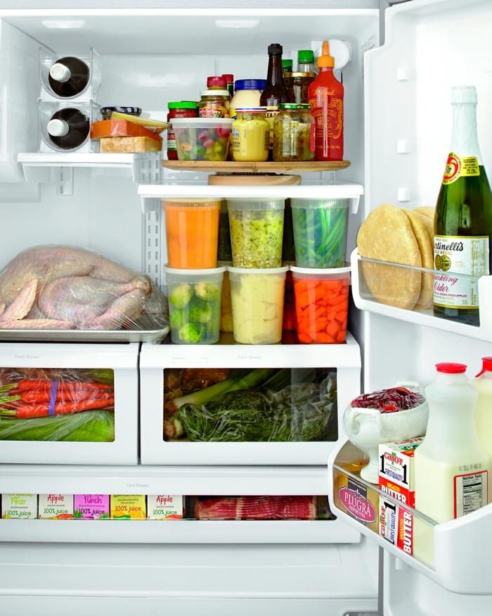 ideas para organizar la nevera, consejo utiles e ideas de almacenamiento en la cocina, como organizar la cocina paso a paso
