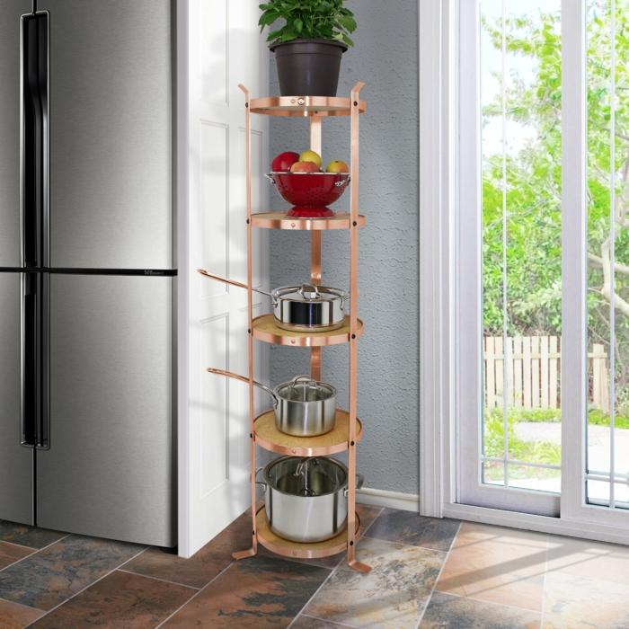 organizadores de cocina modernos y funcionales, como organizar la cocina, fotos de cocinas decoradas con mucho encanto