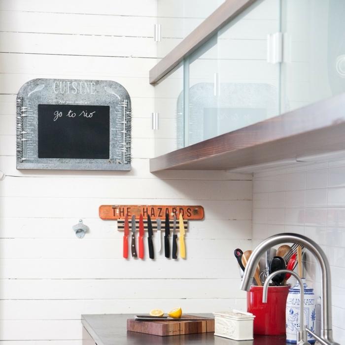 ideas para organizar la cocina, fotos de cocinas en estilo industrial, pequeños detalles con las que organizar la cocina en fotos